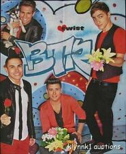 Big Time Rush 3 POSTERS Centerfolds Lot 3089A Justin Bieber on back