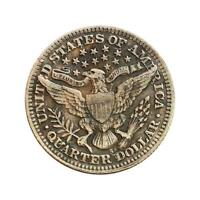1897 Years Commemorative Coin Quarter Dollar Collection Memorial Gifts