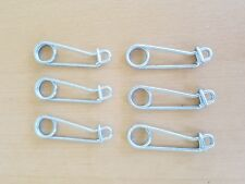 Gees Minnow Trap Utility Clip / Live Bait Traps Lock Clips - SET OF 6 CLIPS New