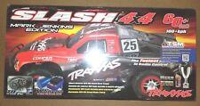 Traxxas Slash 4x4 VXL Brushless RTR RC Truck RED w/TSM MARK JENKINS 68086-4-MARK