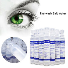15ml Baby Sterile Saline Solution NaCl 0.9% Nebulizer Nose Ear Eye Wash Hot Sale