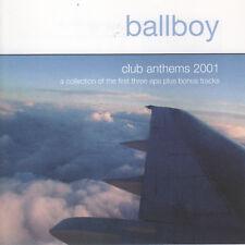 Club Anthems 2001 by Ballboy (CD, SL) Limited Edition/Enhanced/Scotland Indy Pop