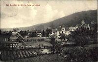 Bad Sooden Allendorf Hessen AK 1913 gelaufen nach Hamburg Partie am Luftbad Kur