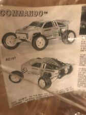 Vintage Dahms Commando Body For Associated RC10T Or Losi JRXT
