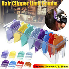 8pcs/Set Electric Hair Clipper Guide Universal Positioning Comb Attach Tool Top