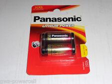 3 x Panasonic 2CR5 im Blister Photo Batterie 6,0V 1400 mAh DL245 2CR5M 5032LC
