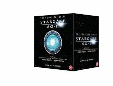 STARGATE SG1 COMPLETE SEASON 1-10 + ARK OF TRUTH/CONTINUUM