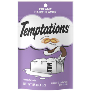 "1- Temptations Cat Treats "" CREAMY DAIRY"" Flavor (NET WT 3oz)"