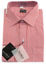 Vêtements rouge à motif Carreaux pour garçon de 2 à 16 ans