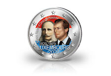2 Euro 2020 Luxemburg 200. Geburtstag von Prinz Henri mit Farbmotiv
