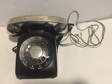 Vintage Art Deco  TELEPHONE BELL WESTERN ELECTRIC  PHONE VINTAGE  silver black
