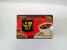 Vietnam Pure Black Instant Coffee G7  1 Box of 15 Packs ( 2 g ) mild flavor
