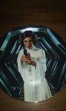 """Princess Leia"" 4th Issue Star Wars Hamilton Collection MIB COA #2"