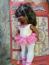 """Vintage Mattel Black Doll Dancerella 1978  17"""" Tall w Box"""
