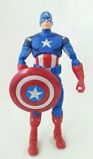 "Marvel Legends Avengers CAPTAIN AMERICA 6"" Action Figure Walmart Exclusive 2012"
