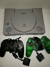 Sony Playstation PS One PS1 Video Game Console 2 controllers Only, Tested Works