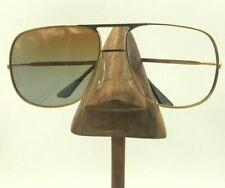 Vintage Polaroid 4852 Gold Metal Aviator Sunglasses Eyeglasses Frames France