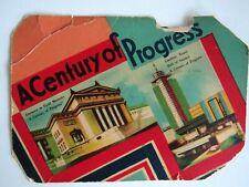 1934 Chicago's Century of Progress Souvenir World's Fair