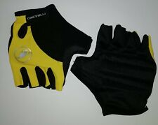 GUANTI CICLISMO CASTELLI GIALLO CYCLING GLOVES SIZES XXL NEW PROMO