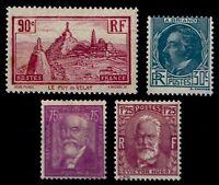 L'ANNÉE 1933 Complète, Neufs ** = Cote 147 €  / Lot Timbres France 290 à 293