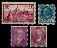 L'ANNÉE 1933 Complète, Neufs * = Cote 61 €  / Lot Timbres France 290 à 293