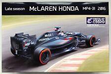 EBBRO E020 McLaren Honda mp4-31 2016 Late Temporada 1/20 Kit de modelismo