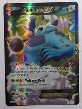 Thundurus EX FULL ART - 98/108 XY Roaring Skies - Ultra Rare Pokemon Card