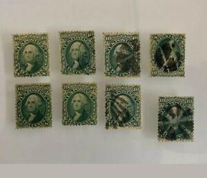 Sellos D Estados Unidos conjunto d sellos d dank grean pena.12 no gum