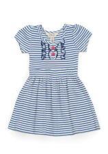 NEW Matilda Jane Size 10 Tween VAULT JETTY LAP DRESS Happy and  Free Blue Stripe