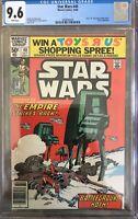 Star Wars #40 CGC 9.6 Marvel NM+ Newsstand Variant