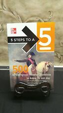 5 Steps to a 5 on the Advanced Placement Examinations: 5 Steps to a 5 500 AP...