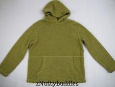 PATAGONIA OLIVE GREEN PULLOVER HOODIE Softest/Warmest Hoodie Ever! Kids Large 12