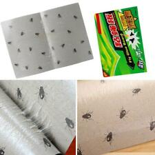 5x of Sticky Fly Flies Trap Catcher Bugs Glue Paper  Insect Catcher Board Useful