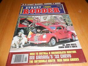 Street Rodder Aug 1976, The Nationals South, 6-71 Street Blower