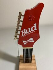 Rare And Vintage Budweiser Bud King Of Beers Guitar Handle Tap Handle !