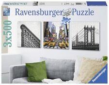 Puzzle 3x500 Teile - New York City Impressionen (quadratisch, Triptychon) von Ra