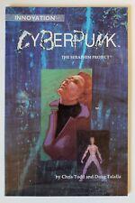 Cyberpunk Seraphim Project Trade Paperback NM Complete 1 2 Innovation Comics TBP
