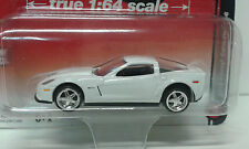 CHEVROLET CORVETTE ZO6 2012 WHITE AUTO WORLD AW 1/64 APX