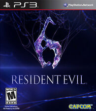 Resident Evil 6 PS3 Complete w/Character Decals