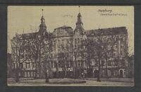 1910 HAMBURG GEWERKSCHAFTSHAUS GERMANY POSTCARD