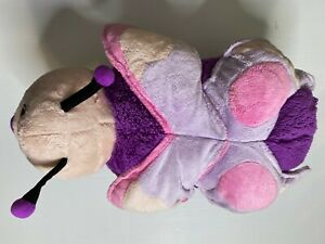 PILLOW PET ~ Authentic Butterfly Purple Pink Plus Toy Kids Sleep Snuggle Teddy