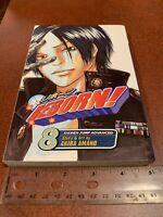 Reborn! Volume 8 English Manga Akira Amano Shonen Jump Viz Media FREE SHIPPING