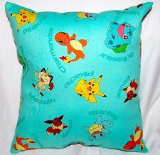 New Handmade Nintendo Pokemon Charmander Eevee Squirtle Pikachu Pillow
