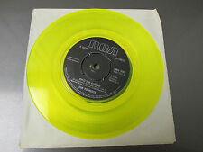 1980 THE TOURISTS From The Middle Room / Into The Future 45 Yellow EX New Wave