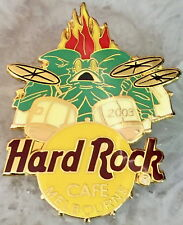Hard Rock Cafe Melbourne 2003 Frilled Neck Lizard Drummer Pin - Hrc #27442