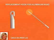 VERTICAL BLIND WAND (STICK) - REPLACEMENT HOOK ONLY SPARE PARTS