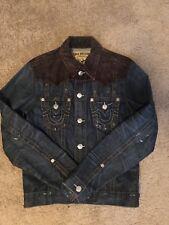 True Relgion Denim Jacket w/ Corduroy - size S