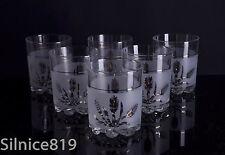 Italian DeValBor Mid Century Old Fashioned Rocks Whiskey Glasses Set of 6