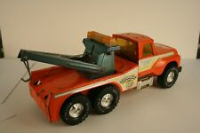 Nylint Truck Center Orange Big Pumpkin Wrecker Tow Truck