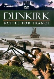 The War File Dunkirk The Battle For France DVD 2003 Brand New & Sealed